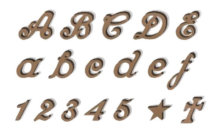 Dato språk bokstaver på sheffield sølv